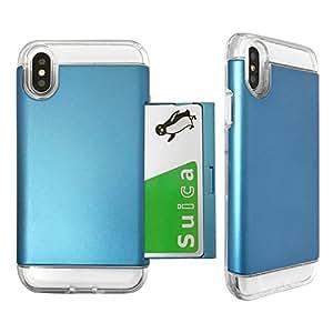 ROOX S2B Alex for iPhone X ブルー S2BBAXIP8-BU