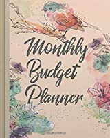 Monthly Budget Planner: Undated Monthly Budget Planner Organizer | Monthly Bill Organizer Tracker Journal Notebook |Daily & Weekly Expense Tracker |Size 8x10 Inches, 146 pages (Monthly Budget Planner Monthly Bill Organizer Series)