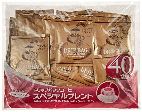 ハマヤ スペシャルブレンド ドリップ・バッグコーヒー(8gx40)x2パック