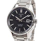 [タグホイヤー]TAG Heuer 腕時計 カレラ キャリバー5 WAR211A.BA0782 中古[1303321]ブラック 付属:国際保証書 ボックス