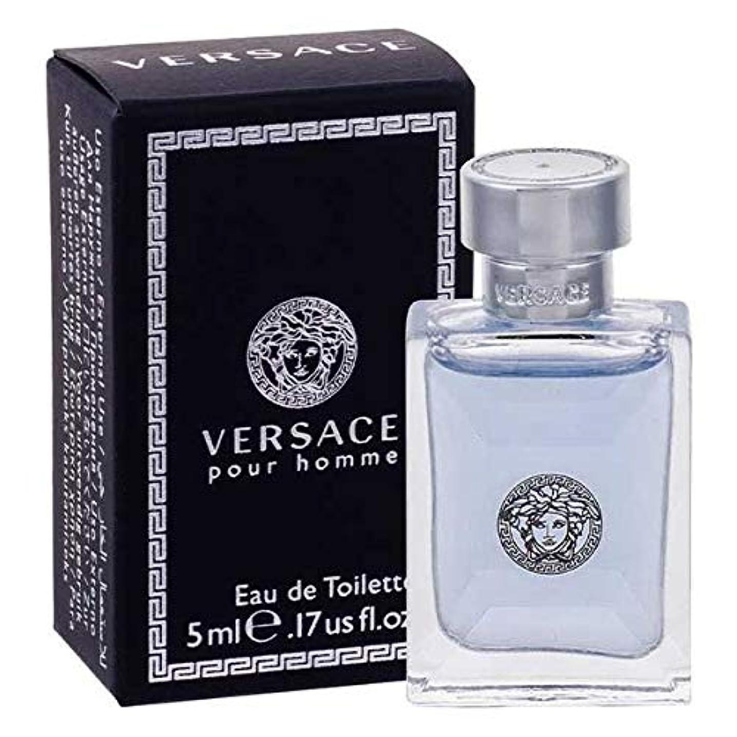 痛い討論タンパク質Versace(ヴェルサーチ) ヴェルサーチ ヴェルサーチプールオム EDT ロマティック・フゼア・ウッディ 5ml