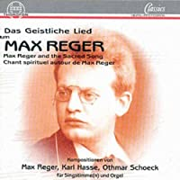 Reger & the Sacred Song
