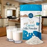 Aadvikキャメルミルクパウダー500gフリーズドライ、グルテンフリー、添加物なし、保存料なし、100...