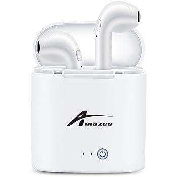 Bluetooth イヤホン ワイヤレス イヤフォン Hi-Fi 高音質 片耳 両耳対応 ワンボタン設計 軽量 防水 スポーツイヤホン カナル型 ワイヤレス ヘッドセット マイク内蔵 通話可 iPhone Android 対応 充電式収納ケース付き