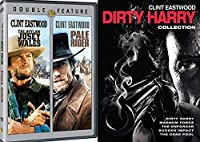 Dirty Harry Clint Eastwood + The Outlaw Josey Wales - The Enforcer/The Gauntlet/Sudden Impact DVD Western Action Pack 5 Movie Set Clint Eastwood [並行輸入品]