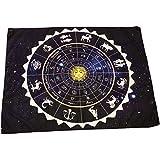 RELIGHT タロットクロス タペストリー ホロスコープ 星座 太陽 占星術