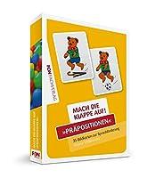 Mach die Klappe auf - Praepositionen: Bildkarten zur Sprachfoerderung