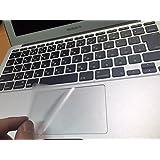MacBook Air 13インチ Pro 13/15/17インチ トラックパッド保護フィルム(サラサラ極薄タイプ)