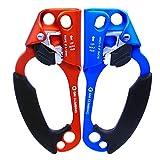 GM CLIMBING 左右手セット アッセンダー 8~12mm ロープ適用 クライミング アーボリスト ロープ登高 CE/UIAA 認証