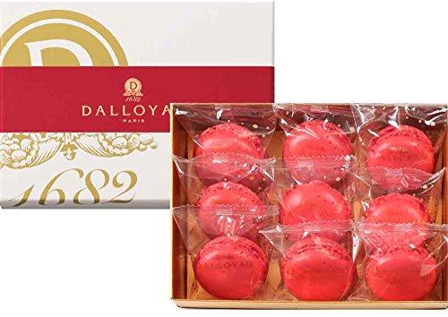 DALLOYAU(ダロワイヨ) あまおうのマカロン詰合せ(9個詰)   ¥ 2,160