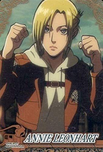 アニ レオンハート N ANNIE LEONHART 進撃の巨人 コレクターズカード anime グッズ