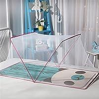 QD-BYM ベビー蚊帳 折り畳み式 ワンタッチ かや 赤ちゃん 蚊帳 ベビー専用 1-3歳