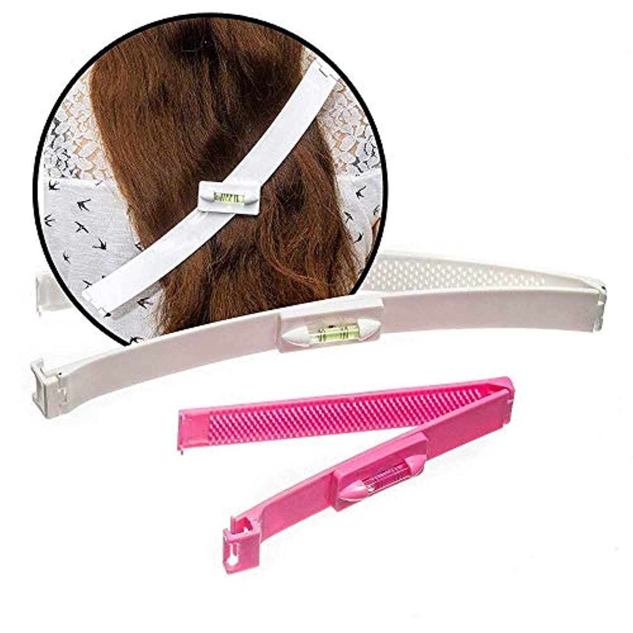 フォルダブローホールゆるくPichidr-JP 前髪カットクリップ日常生活DIYの前髪カット女性/女の子のための櫛カット