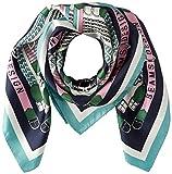 [ビームス デザイン] スカーフ シルク ネービーブルー レディース 50605503C ネイビー 日本 52cm×52cm (FREE サイズ)
