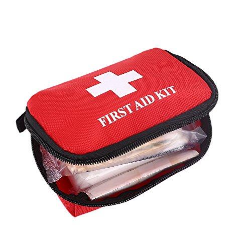Sedeta® 車の緊急バッグ ファーストエイドキットパックメディカルツール CARアウトドアスポーツ旅行キャンプホーム