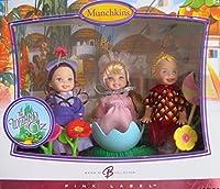 バービーWizard of Oz Munchkinsケリー&トミー・コレクターDolls w 3Munchkin ( Lollipop Tommy、バレリーナ& Girlヴィレジャー) Dolls & More ( 2006)