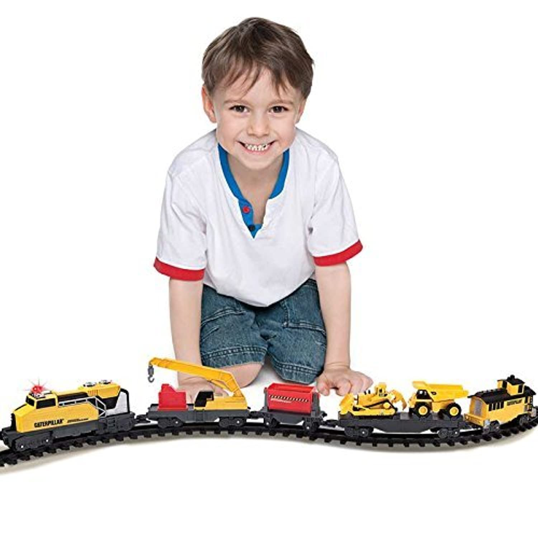 CAT Construction Express Train Set [並行輸入品]