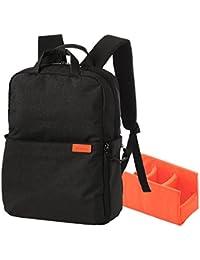 エレコム off toco 2styleバックパック リュックサック パソコン収納ポケット カメラ収納インナー付 Mサイズ ブラック DGB-S035BK