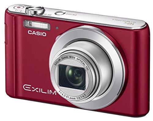 CASIO デジタルカメラ EXILIM EX-ZS240RD 手ブレに強い光学12倍ズーム シャッターを押すだけでキレイに撮れる -