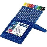 (まとめ買い) ステッドラー エルゴソフト水彩色鉛筆 12色 156SB12 【×3】