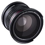 魚眼レンズ デジカメ 58MM 0.35X フィッシュアイ/魚眼レンズ マクロレンズ スーパーフィッシュアイ Canon Nikon Petax Sonyなどデジタ..