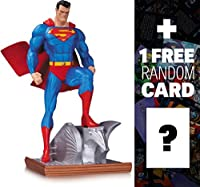 "Superman: ~6.5"" DC Comics Cover Girls Statue + 1 FREE Official DC Trading Card Bundle [324173]"