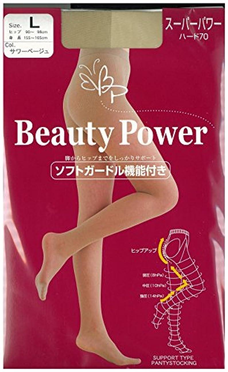 未来法廷襟Beauty Power 着圧ストッキング スーパーパワー70 (ヒップアップ機能付)