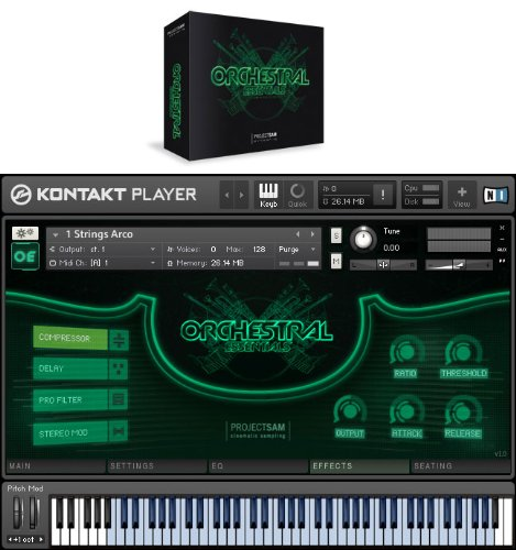 PROJECT SAM ORCHESTRAL ESSENTIALS / BOX