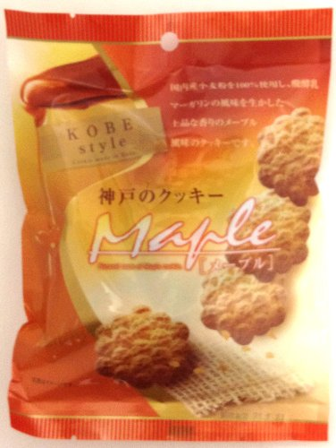 神戸のクッキー メープル 袋 80g