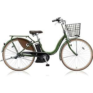 ブリヂストン(BRIDGESTONE) アシスタファイン A6FC18 E.Xナチュラルオリーブ 26インチ3段変速 電動自転車
