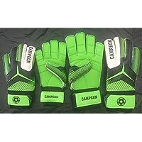 フットボール サッカー ゴールキーパー用グローブ 指保護 ユースサイズ グリーン ブラック 10