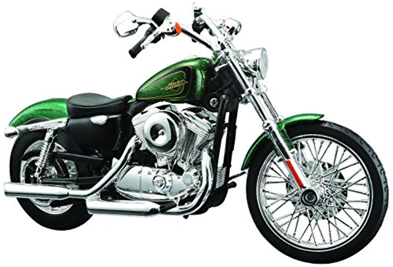 マイスト 1/12 完成品バイク ハーレー ダビッドソン 2012 XL 1200V セブンティーツー グリーン