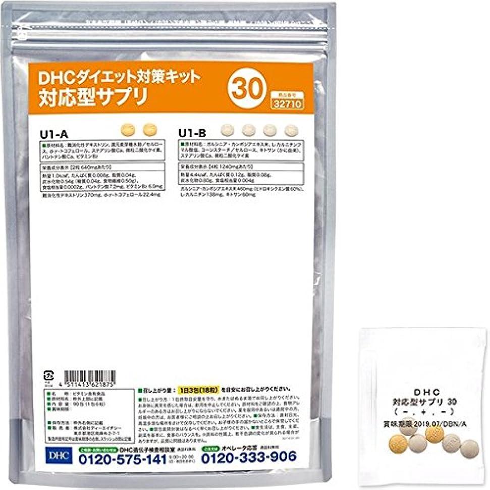 愛人カロリーショッピングセンターDHCダイエット対策キット対応型サプリ30