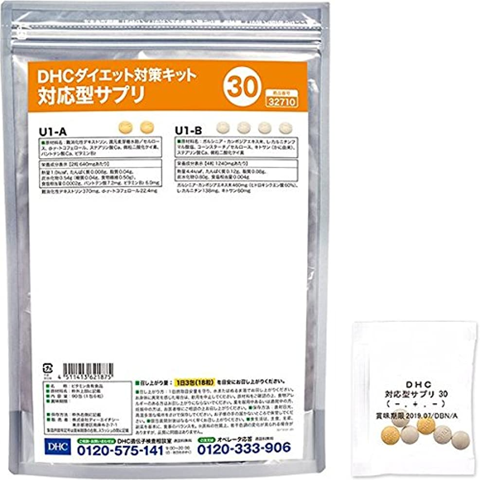 DHCダイエット対策キット対応型サプリ30