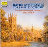 Haydn: Symphonies No. 88, 89, & 92 'Oxford'