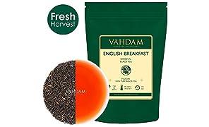 アッサムティー ENGLISH BREAKFAST 紅茶 Vahdam teas ワダムティー 茶葉 インド 255g