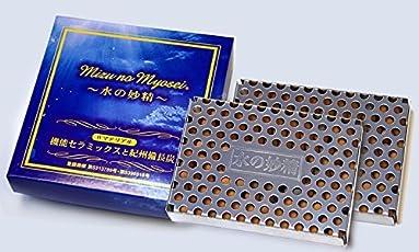 水の妙精 機能セラミックスと紀州長備炭 Wマテリアル 日本製