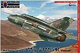 KP model 1/72 ソ連空軍 MiG-21M/SM プラモデル KPM0098