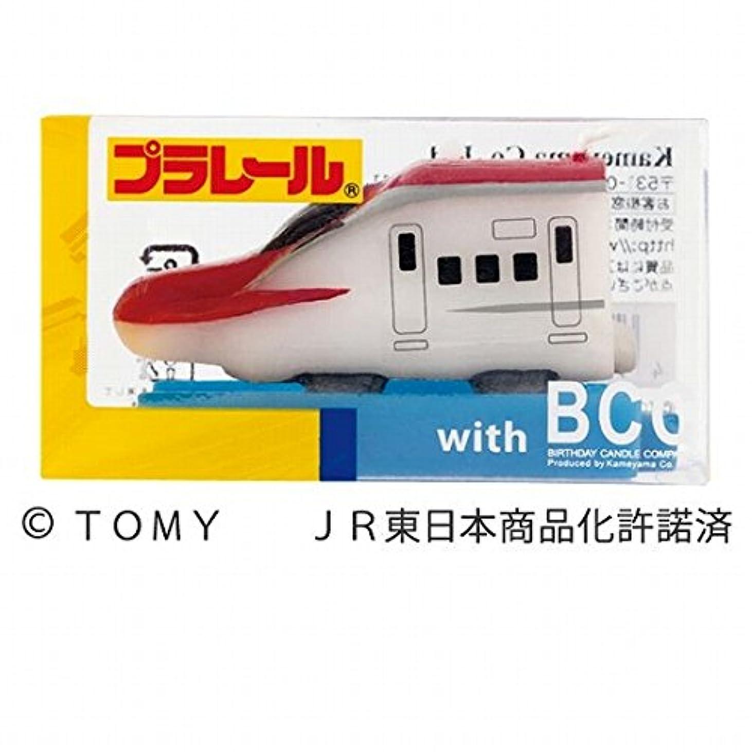 比べる好色な繕うカメヤマキャンドル(kameyama candle) プラレールキャンドルE6系新幹線こまち