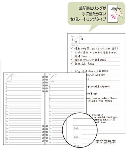 ナカバヤシ TODAYノート リングタイプメモ帳 A5スリム NW-SA501-1