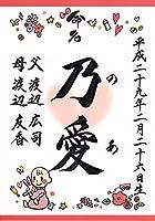 ラミネート命名書 8.赤ちゃん(ピンク)他デザイン多数!(※詳しくは画像をタップ)【命名紙・命名用紙・赤ちゃん・誕生・名づけ・記念】