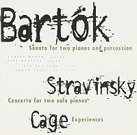 バルトーク : 2台のピアノとパーカッションのためのソナタ