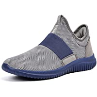 Troadlop Men's Sneakers Breathable Lightweight Running Walking Gym Casual Shoes