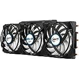 ARCTIC Accelero Xtreme III - High-End Graphics Card Cooler - nVidia & AMD, 3 Quiet 92mm PWM Fans, SLI/CrossFire, Support R9 390X, R9 290X, GTX 980 Ti, Titan X [並行輸入品]