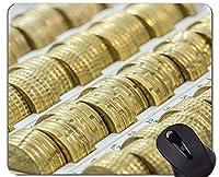 ユニークなカスタムマウスパッドマウスパッド、通貨、マネーマネーノンスリップラバーベースマウスパッド