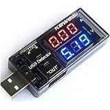 デュアルUSB電流電圧テスター チェッカー [並行輸入品]