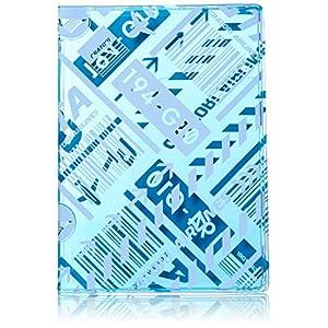 [コンサイス] GRATORI パスポートカバー 13.5cm kg 517917 BL ブルー