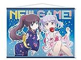 NEW GAME! B2タペストリー 涼風青葉&滝本ひふみ/浴衣ver.