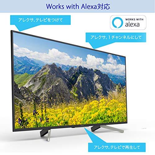 ソニーSONY49V型液晶テレビブラビア4KAndroidTV機能搭載WorkswithAlexa対応2018年モデルKJ-49X7500F