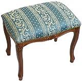 パシフィックGLD イタリア製 クラシカルな椅子 スツール M ブルー 51263 47×43.5